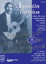 Agustin Barrios: Complete Guitar Recordings 1913-1942 MP3CD CD Sheet Music