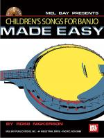 Children's Songs for Banjo Made Easy Book/CD Set Sheet Music