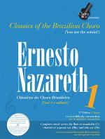 Ernesto Nazareth - Vol. 1, Brazilian Choro Book/CD Set Sheet Music