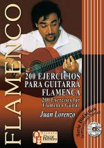 200 Exercises for Flamenco Guitar Book/CD Set Sheet Music