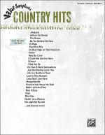 Value Songbooks -- Country Hits Sheet Music