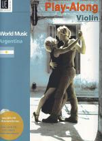 World Music - Argentina with CD Sheet Music