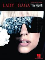 Lady Gaga - The Fame Sheet Music