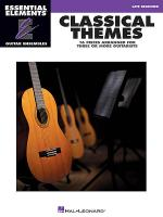 Classical Themes - 16 Pieces Arranged for Three or More Guitarists Sheet Music