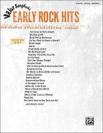Value Songbooks -- Early Rock Hits Sheet Music