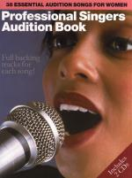 Professional Singers Audition Book Sheet Music