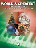 World's Greatest Christmas Music Sheet Music