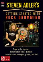 Steven Adler's Getting Started with Rock Drumming Sheet Music