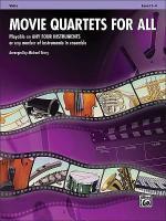 Movie Quartets for All Sheet Music
