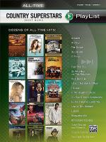 All-Time Country Superstars Sheet Music Playlist Sheet Music