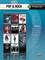 2009 Pop & Rock Sheet Music Playlist Sheet Music