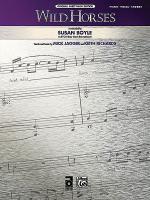 Wild Horses Sheet Music