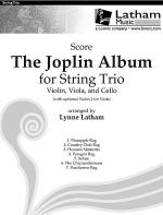 The Joplin Album for String Trio - Score Sheet Music