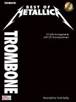 Best of Metallica for Trombone Sheet Music