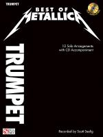 Best of Metallica for Trumpet Sheet Music