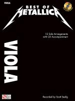 Best of Metallica for Viola Sheet Music