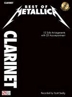 Best of Metallica for Clarinet Sheet Music