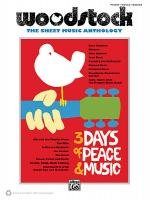Woodstock Sheet Music Anthology Sheet Music