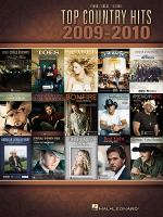Top Country Hits of 2009-2010 Sheet Music
