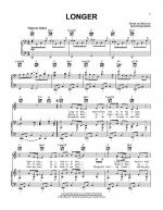 Longer Sheet Music