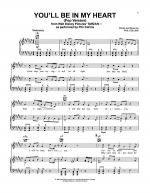 You'll Be In My Heart Sheet Music