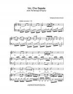 Voi Che Sapete (from The Marriage Of Figaro) Sheet Music