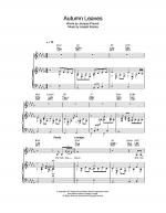 Autumn Leaves (Les Feuilles Mortes) Sheet Music