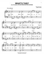 What's This? Sheet Music