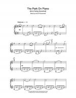 The Park On Piano Sheet Music