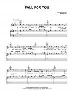 Fall For You Sheet Music