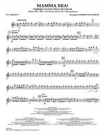 Mamma Mia! - Highlights from the Movie Soundtrack - Bb Clarinet 1 Sheet Music