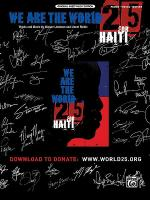 We Are the World 25 for Haiti Sheet Music
