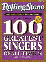 Rolling Stone Sheet Music Anthology of Rock & Soul Classics Sheet Music