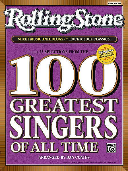 Rolling Stone Sheet Music Anthology of Rock & Soul Classics Sheet Music
