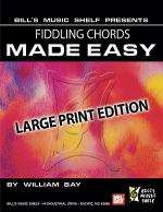 Fiddling Chords Made Easy, Large Print Edition Sheet Music