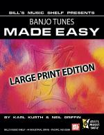 Banjo Tunes Made Easy, Large Print Edition Sheet Music