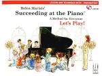 Helen Marlais' Succeeding at the Piano, Lesson and Technique Book - Preparatory (with CD) Sheet Music
