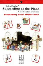 Helen Marlais' Succeeding at the Piano, Sticker Book - Preparatory Sheet Music