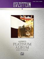 Led Zeppelin -- II Platinum Sheet Music