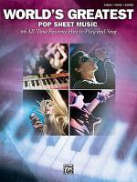 World's Greatest Pop Sheet Music Sheet Music