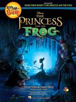 Let's All Sing... Songs from Disney's The Princess and the Frog Sheet Music