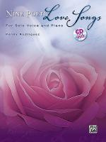 Nine Poetic Love Songs Sheet Music