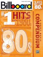 Billboard No. 1 Hits of the 1980s Sheet Music