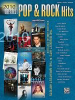 2010 Greatest Pop & Rock Hits Sheet Music