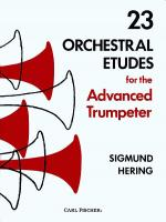 23 Orchestral Etudes For The Advanced Trumpeter Sheet Music