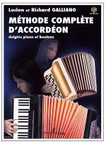 Methode Complete D'Accordeon Sheet Music