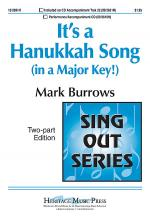It's a Hanukkah Song (in a Major Key!) Sheet Music