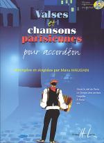 Valses Et Chansons Parisiennes Sheet Music