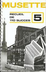 Succes Musette (110) - Volume 5 Sheet Music