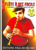Flute a Bec Facile - Volume 1 Sheet Music